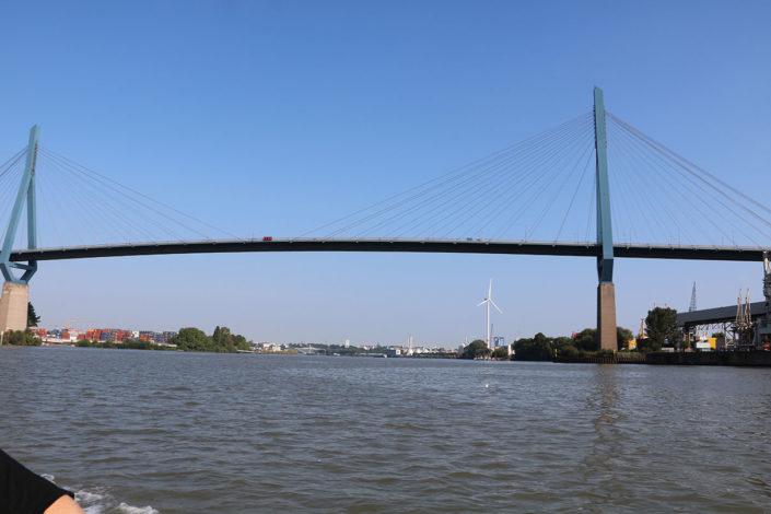 Die Köhlbrandbrücke