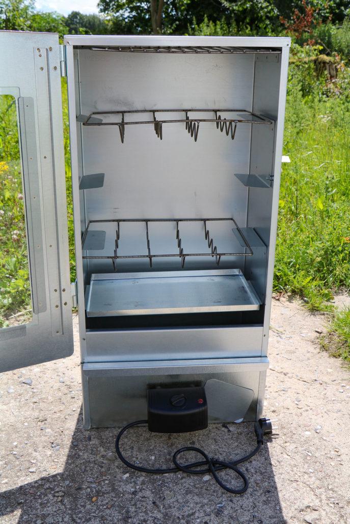 Elektroräucherofen Euro Windkat Stahlblech verzinkt