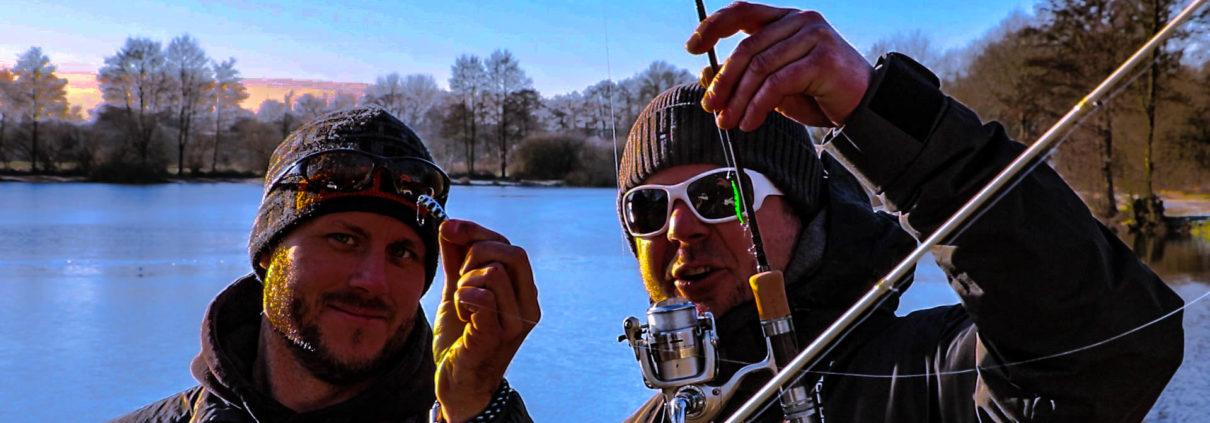 Spoon Angeln mit Autor Florian Penno und Tideritter.de