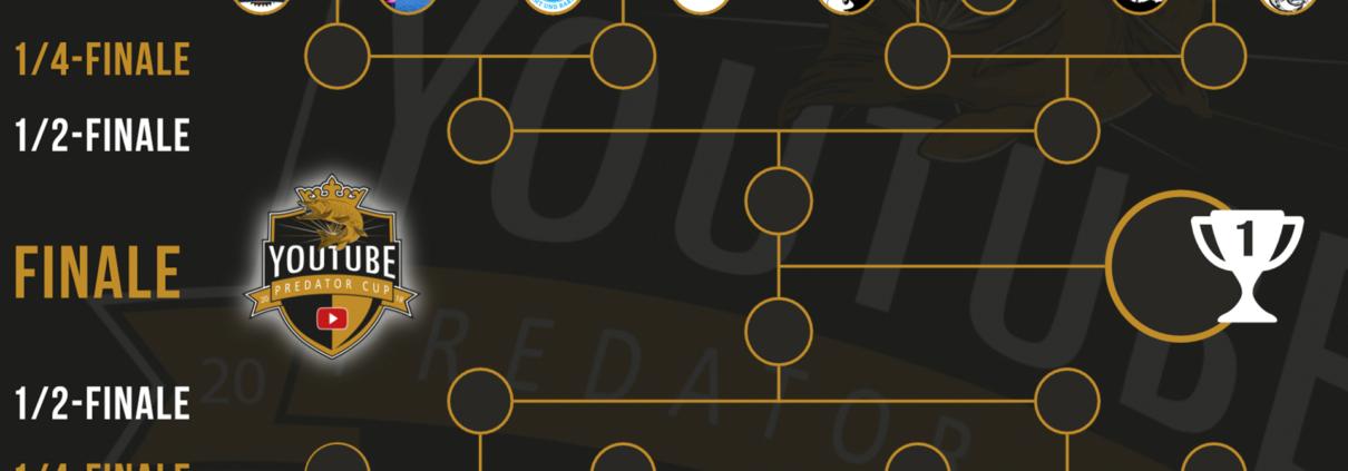 YouTube Predator Cup 2018 - Turnierbaum